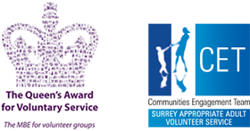 The Queen's Award for Voluntary Service logo